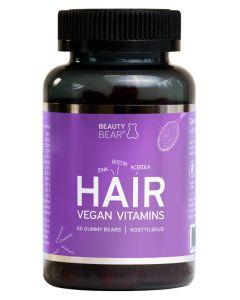 Beauty Bear Hair Vitamins 60 Gummy bears