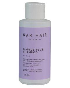 NAK Blonde Plus Shampoo Vegan