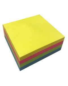 Krea Neon Post-Its 4x75 stk.