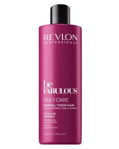 Revlon Be Fabulous Daily Care Normal/Thick Hair Shampoo 1000 ml