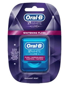 Oral B 3D White Tandtråd Radiant Mint