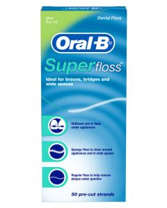 Oral B 3D Super Tandtråd Mint