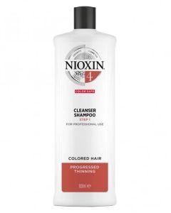 Nioxin 4 Cleanser Shampoo (N) 1000 ml