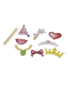 Party Collection Foto Props Prinsesse