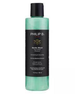 Philip B Nordic Wood Hair + Body Shampoo 350ml