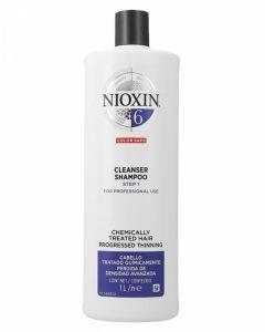 Nioxin 6 Cleanser Shampoo (N) 1000 ml