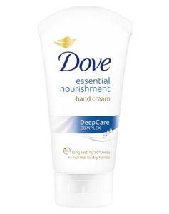 Dove Essential Nourishing Hand Cream (blå) 75 ml