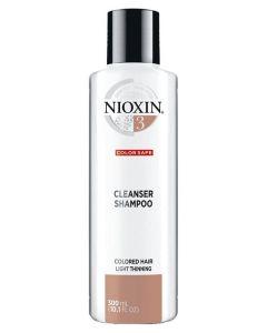Nioxin 3 Cleanser Shampoo (N) 300 ml
