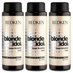 3 x Redken Blonde Idol Base Breaker Cool