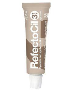 RefectoCil Eyelash And Eyebrow Tint 3.1 Light Brown 15ml