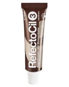 RefectoCil Eyelash And Eyebrow Tint 3 Natural Brown 15ml