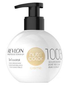 Revlon Nutri Color Creme 1003 Golden Blonde 270ml