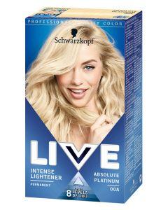 Schwarzkopf Live 00A Absolute Platinum