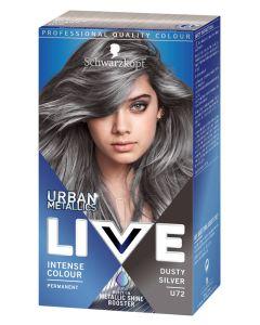 Schwarzkopf Live U72 Dusty Silver
