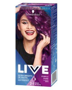 Schwarzkopf Live Ultra Brights 94 Purple Punk