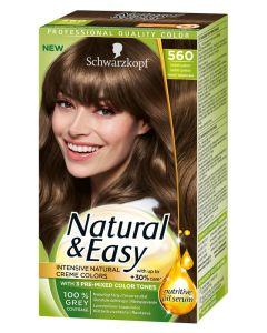 Schwarzkopf Natural & Easy 560 Kashmir Light Brown