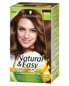 Schwarzkopf Natural & Easy 565 Almond Light Golden Brown