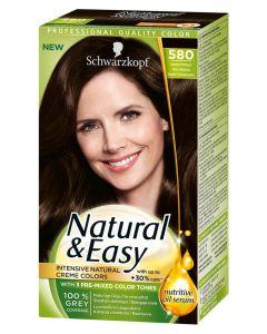 Schwarzkopf Natural & Easy 580 Velvet Dark Brown