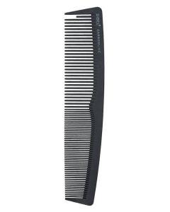 Sibel Carbon Line 18cm Kam + Hårklemmer - Ref. 8476002