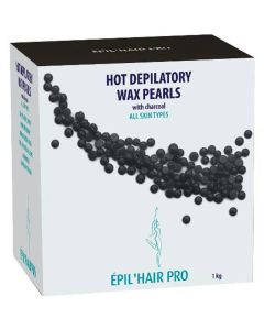 Sibel Hot Beeswax Pearls Charcoal All Skin Types 1000g