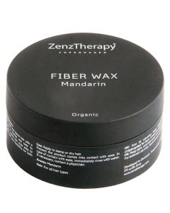 ZenzTherapy Organic Fiber Wax Mandarin 75 ml