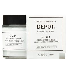 Depot No. 401 Pre & Post Shave Cream Skin Protector 75 ml