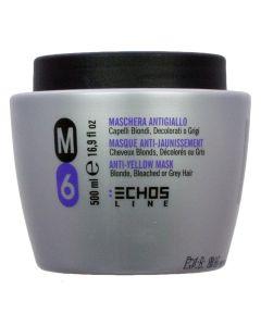 Echosline M6 Anti-Yellow Silver Mask 500 ml