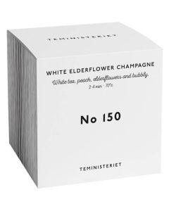 Teministeriet No 150 White Elderflower Champagne Box 50g