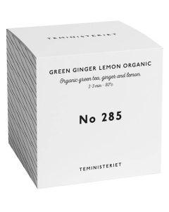 Teministeriet No 285 Green Ginger Lemon Organic Box