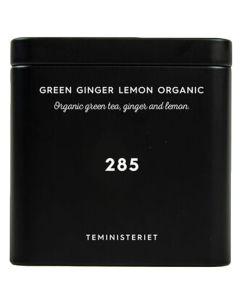 Teministeriet No 285 Green Ginger Lemon Organic Tin 100g