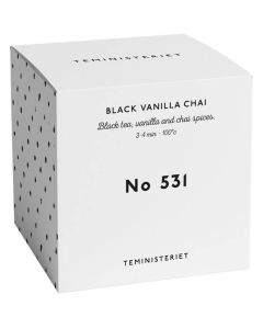 Teministeriet No 531 Black Vanilla Chai Box 50g
