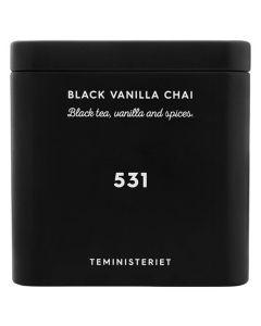 Teministeriet No 531 Black Vanilla Chai Tin 100g