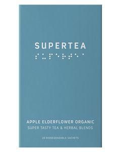 Teministeriet Supertea Apple Elderflower Organic 20x1.5g