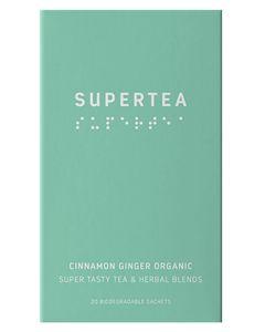 Teministeriet Supertea Cinnamon Ginger Detox 20x1.5g
