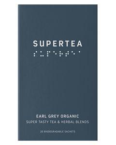 Teministeriet Supertea Earl Grey Organic 20x1.5g