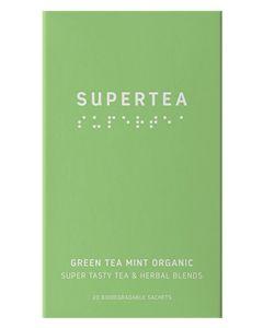 Teministeriet Supertea Green Tea Mint Organic 20x1.5g