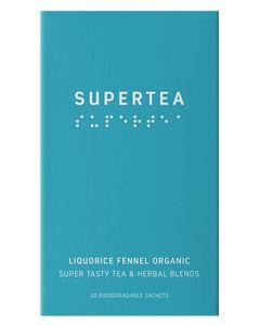 Teministeriet Supertea Liquorice Fennel Digest 20x1.5g