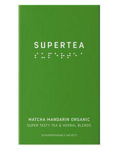 Teministeriet Matcha Mandarin Organic 20x1.5g