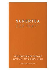 Teministeriet Supertea Turmeric Ginger Organic 20x1.5g