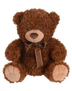 Tender Toys Teddy Mørkebrun