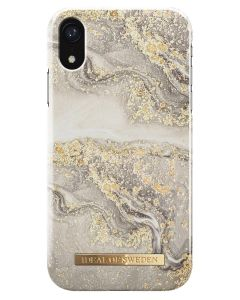 iDeal Of Sweden Cover Sparkle Greige Marble iPhone XR