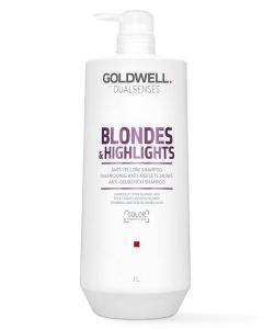 Goldwell Blondes & Highlights Anti-Yellow Shampoo (N) 1000 ml