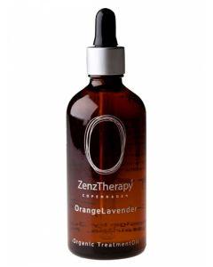 ZenzTherapy Organic Treatment oil - OrangeLavender 100 ml