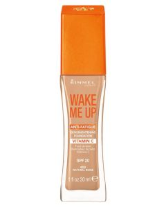 Rimmel Wake Me Up Anti-Fatigue Foundation SPF 15 - 400 Natural beige 30 ml