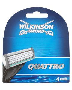 Wilkinson Sword - Quattro Blades 4pak