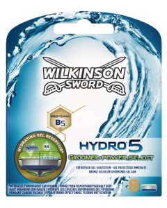 Wilkinson Sword Hydro 5 Power Select Blades 8 stk.