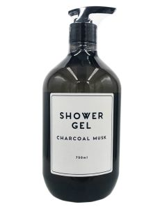 Wonder Spa Shower Gel Charcoal Musk 750ml
