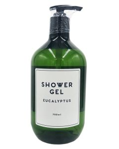 Wonder Spa Shower Gel Eucalyptus 750ml