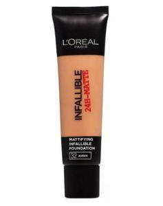 Loreal Infallible 24-Matte - 32 Amber Rose