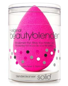Beautyblender Pink + Mini Solid Cleanser